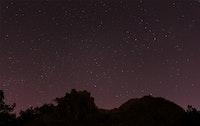 تجربة اولى لتصوير النجوم