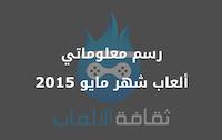 رسم معلوماتي | ألعاب شهر مايو 2015