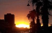 غروب الشمس في مدينة بركان ♡ (المغرب)