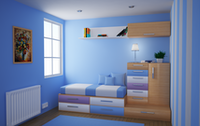 Small Modern Bedroom