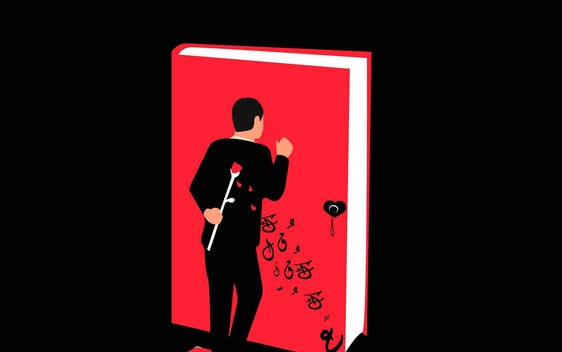 لا تقع في حب امرأة تقرأ
