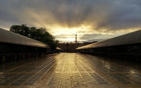 مسجد سكن الطلاب بجامعة الإمام محمد