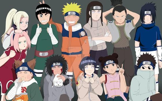 (Naruto Characters (final revision