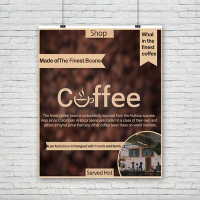 Design Postre & Logo Couffee