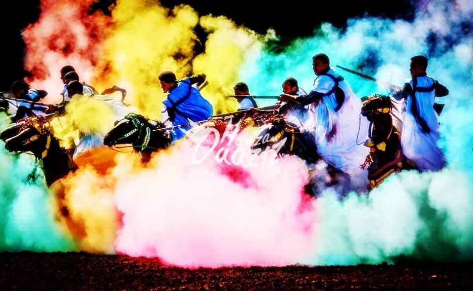 الفروسية بالألوان