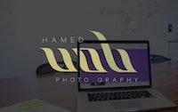 شعار للمصور حامد