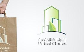 لوجو للعيادات المتحدة