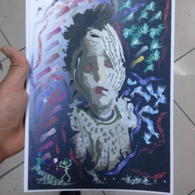 شبح فتاة حلب