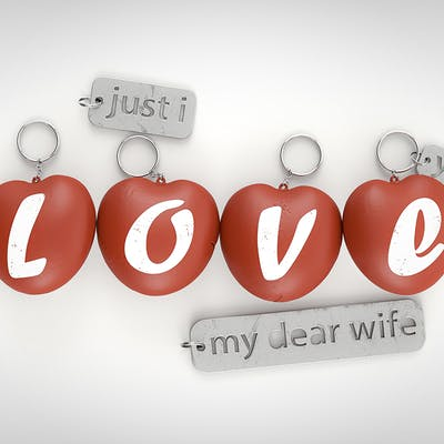""""""" I LOVE U """" by Djamil Azzouz"""
