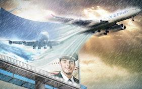 اعلان لشركة طيران2