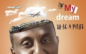حلمي ان اكون طيار