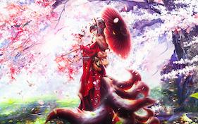 fox girl beautiful-فتاة الثعلب الجميلة