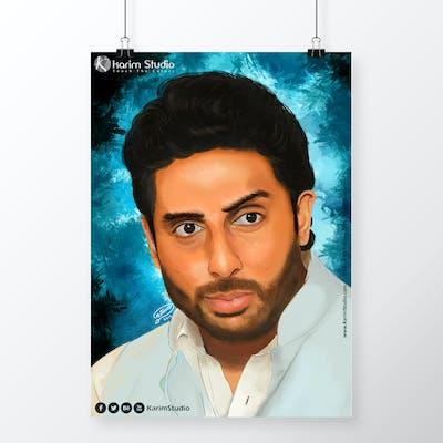 Abhishek Bachchan | Digital Painting