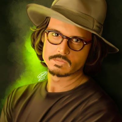 Johnny Depp | Digital Painting
