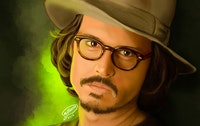 Johnny Depp | Digital Painting