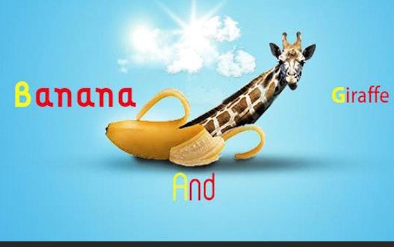 banana and giraffe