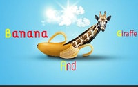 banana and giraffe