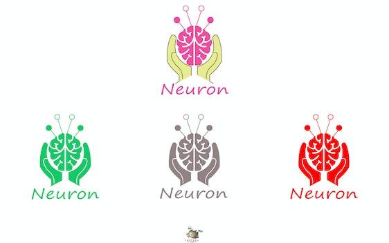 المطلوب شعار لصفحة اسمها Neuron وده اسم الخلية الع