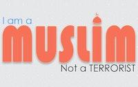 أنا مسلم لست بإرهابي