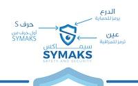 شعار وهوية شركة سيماكس للحماية والمراقبة