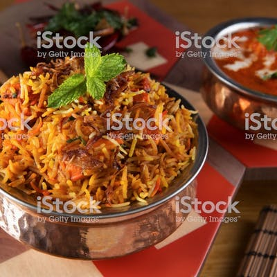 Biryani Indian Meal