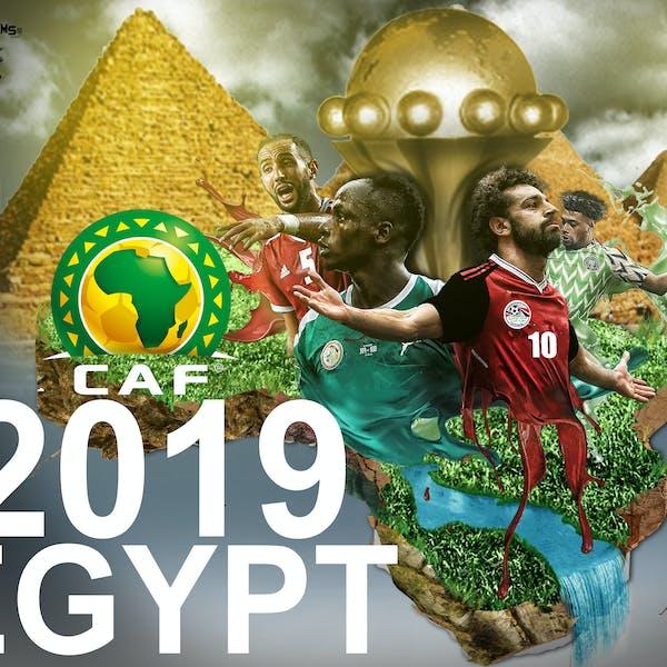 بطولة افريقيا بمصر التصميم الثاني