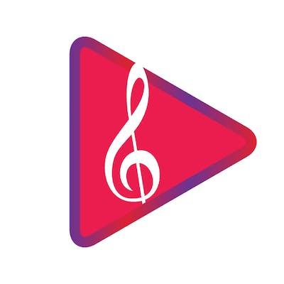 ايقونة لتطبيق موسيقي