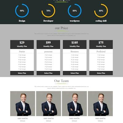 صمم موقعك الشخصي أو موقع شركتك
