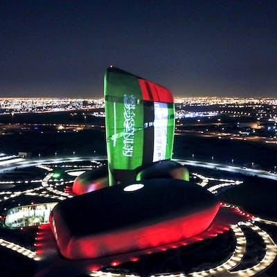 الإمارات تحتفل باليوم الوطني للسعودية