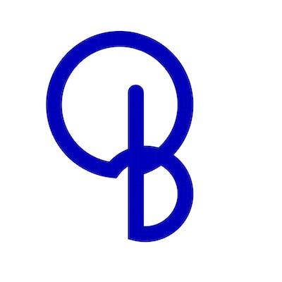 شعار مستنبط من فكرة انطلاقا من الحرف B