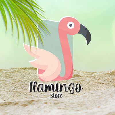 Flamingo Logo Design