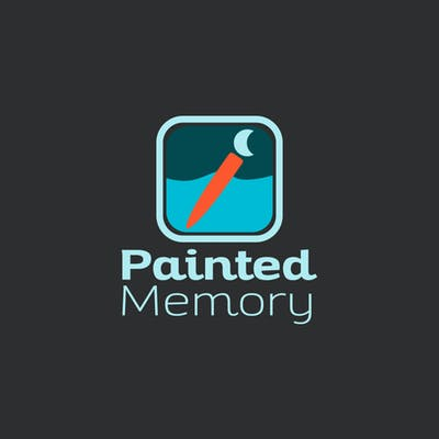 painted memory logo