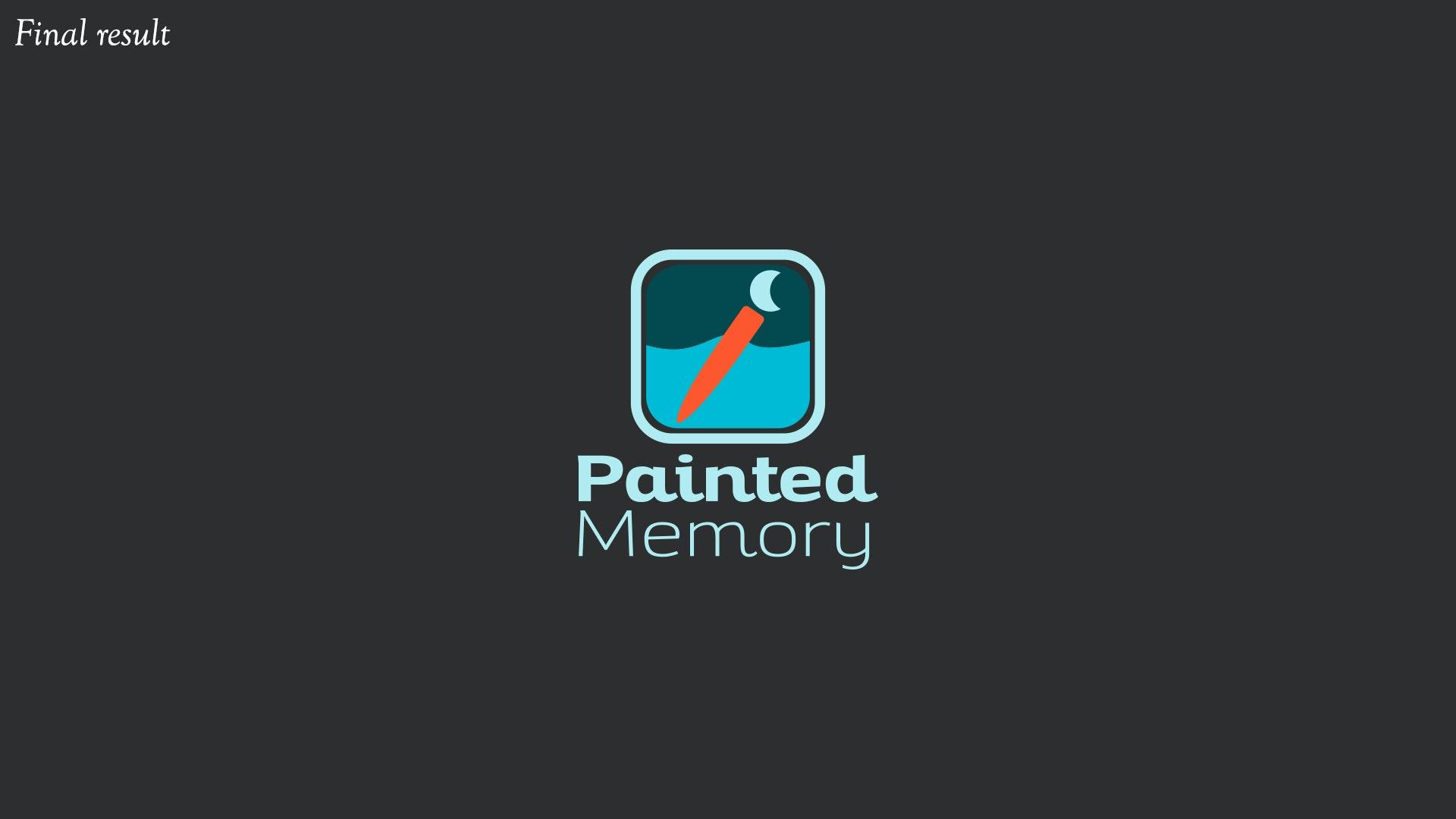 painted memory logo